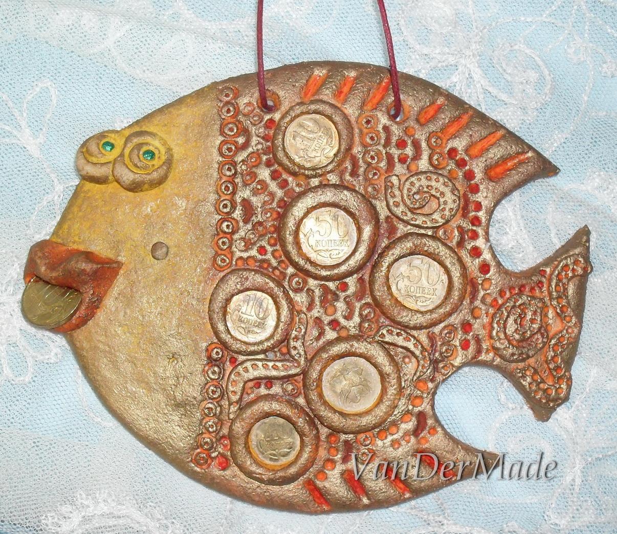 Рыбки из соленого теста. Мастер 62