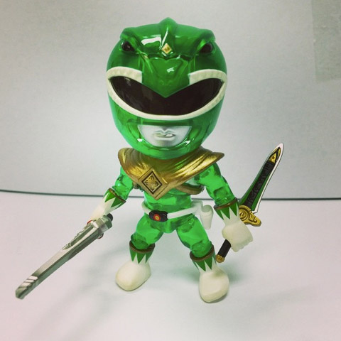 Henshin Grid: List of Mighty Morphin Green Power Ranger Figures