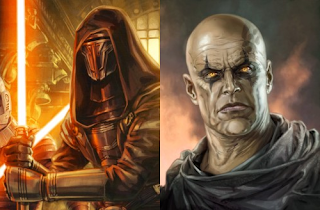 Darth Revan and Darth Bane