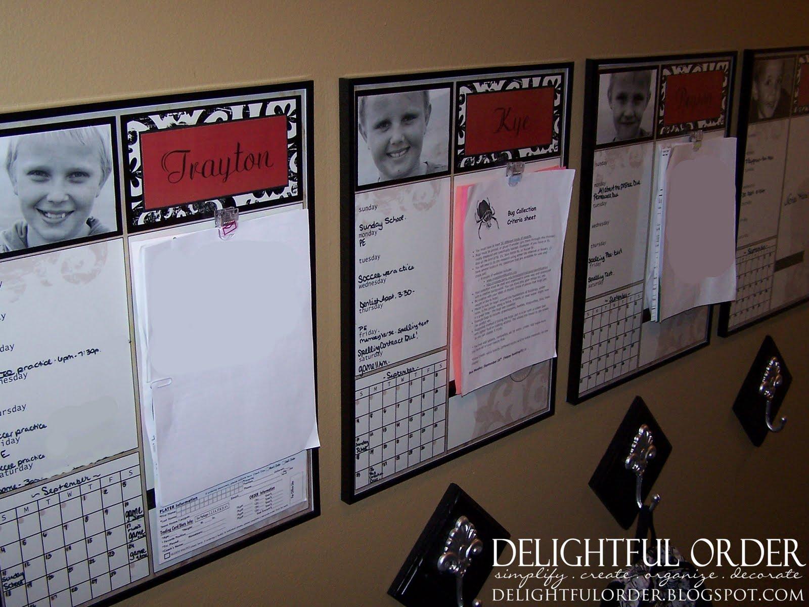 delightful order children u0027s homework message center