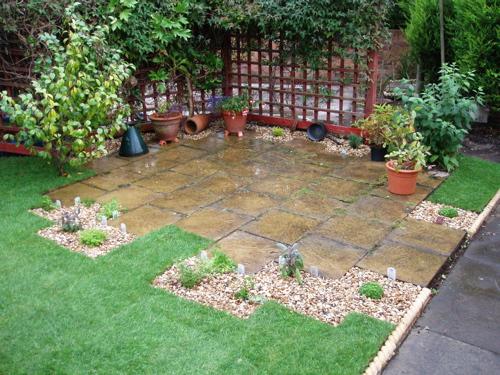 Crie jardim id ias para jardins pequenos espa os - Jardines exteriores pequenos ...