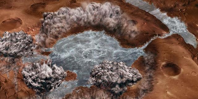 На Марсе вода