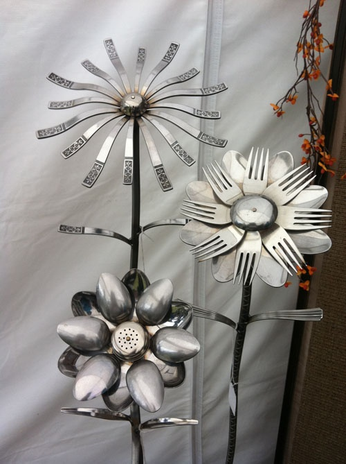 Dishfunctional Designs: Silverware Upcycled & Repurposed: Crafts