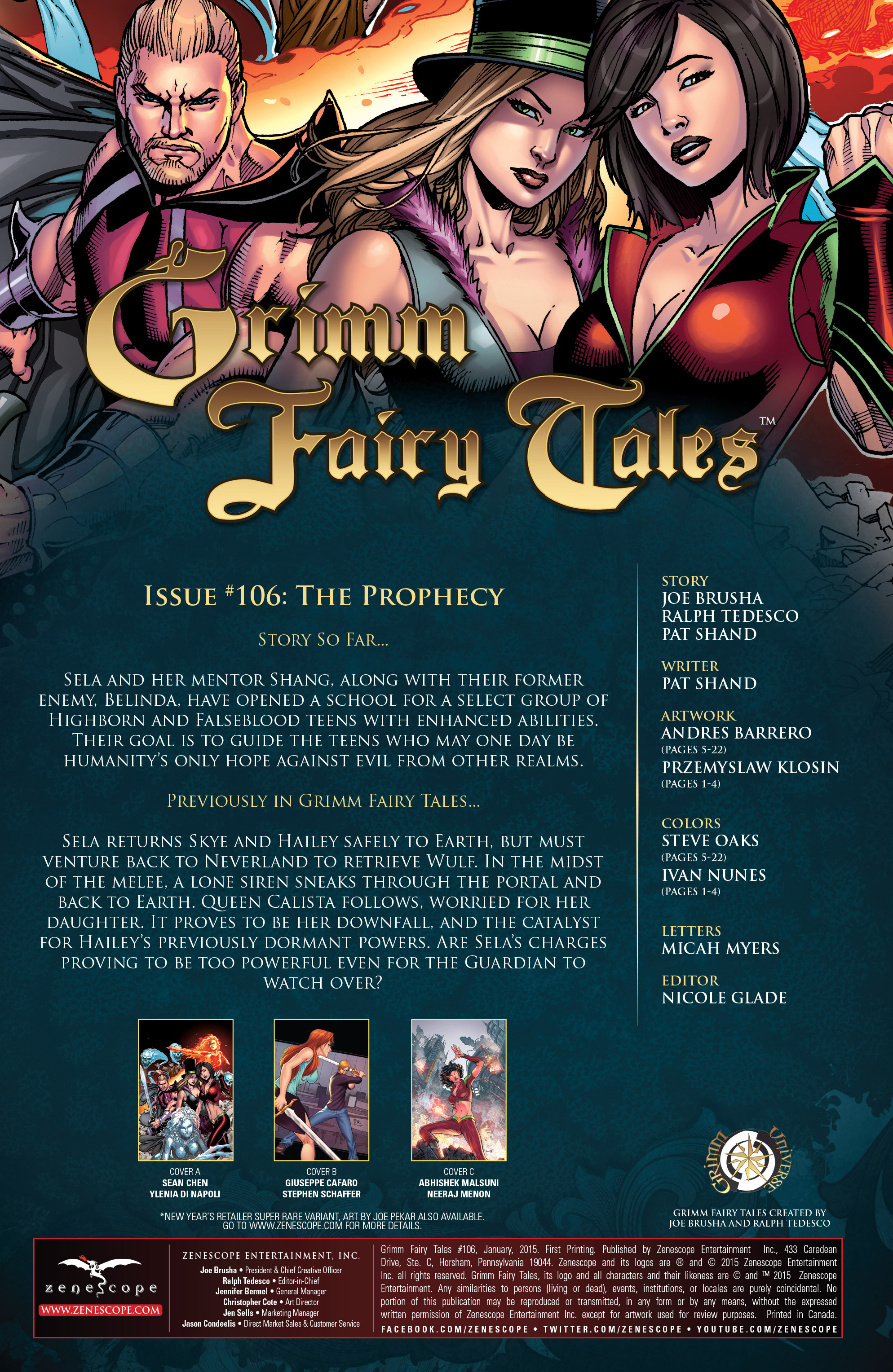 Grimm Fairy Tales (2005) Issue #106 #109 - English 4