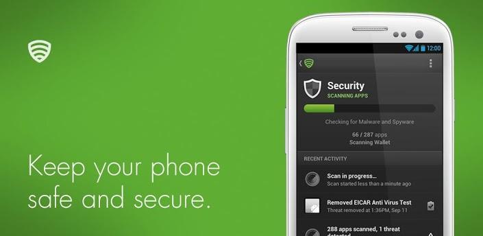 Lookout Antivirus untuk Android Gratis & Terbaik
