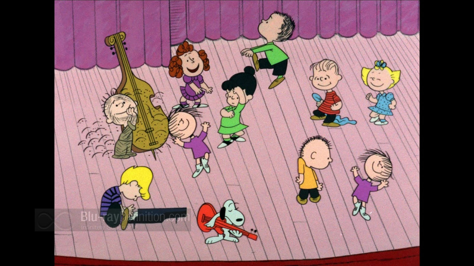 Exploring a charlie brown christmas special third frame