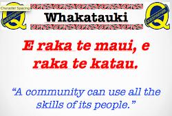 This Week's Whakatauki