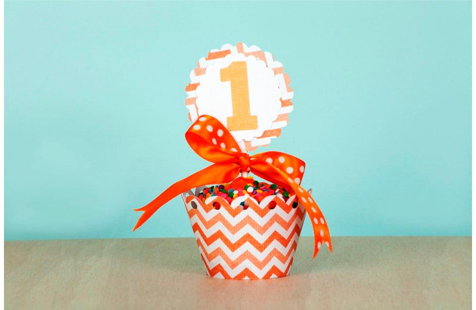 Cricut Cupcake Wrapper Size