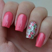 Fotos de Unhas Decoradas Rosas