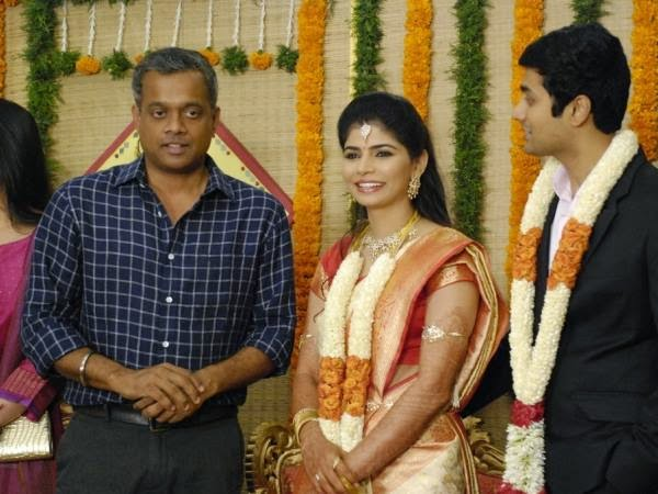 Singer Chinmayi Rahul Wedding Reception Photos