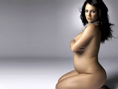 Pregnant celebrity nude