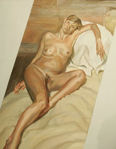 Lucian Freud - portrait de Kate Moss,2004.