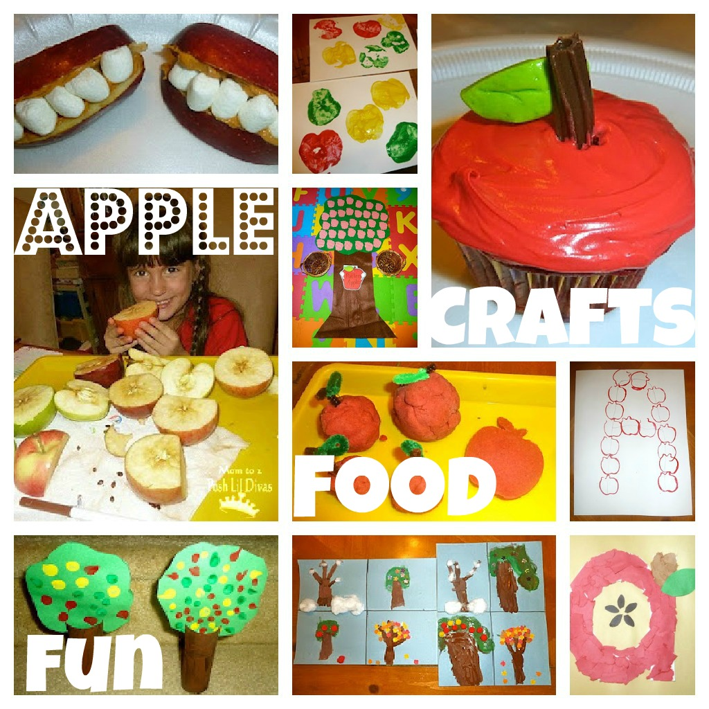 Cooking Arts And Crafts ~ Apple fun