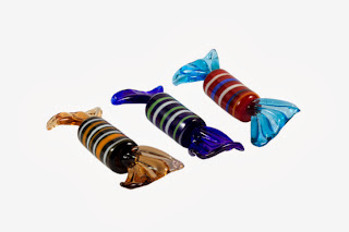 Murano glass candies