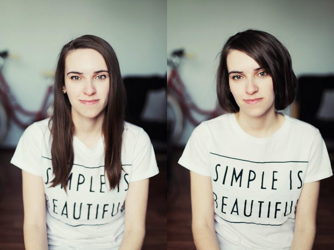 Jak skrócić sobie włosy nie idąc do fryzjera