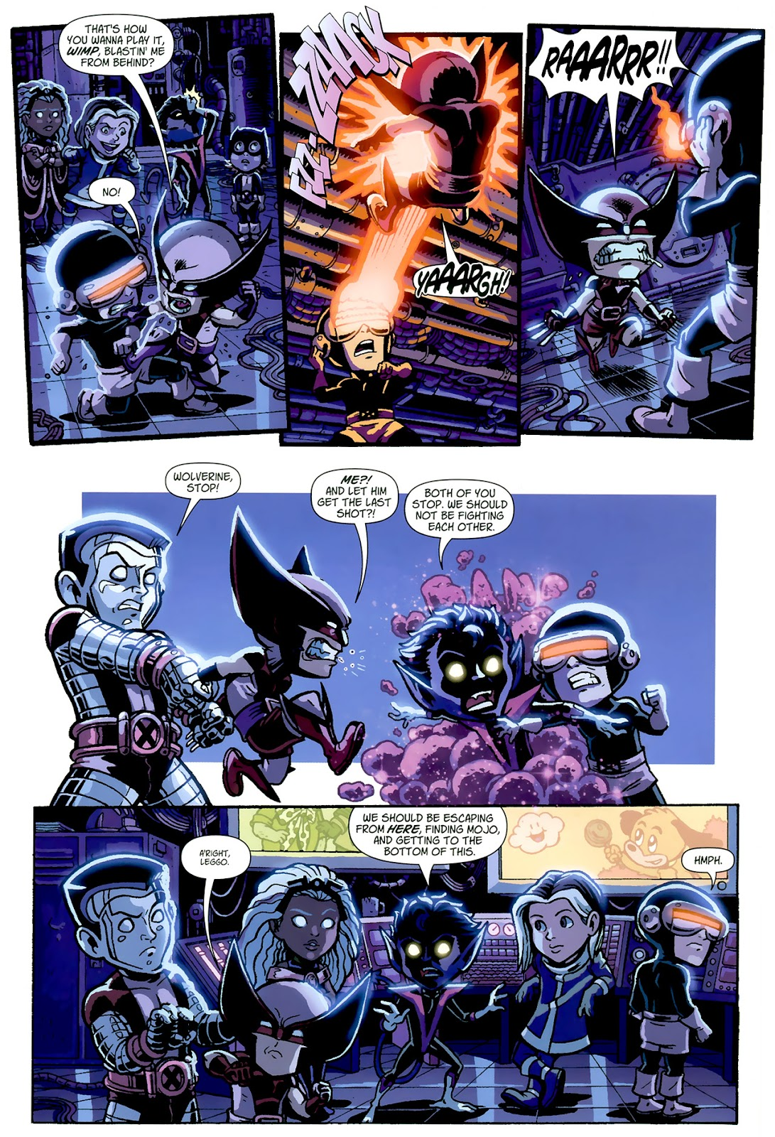 Read online X-Babies comic -  Issue #1 - 13