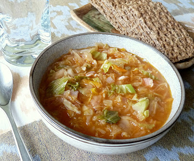 Shchi or Russian Cabbage Soup