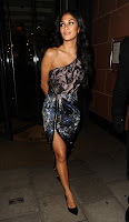 Nicole Scherzinger arriving at C restaurant in London