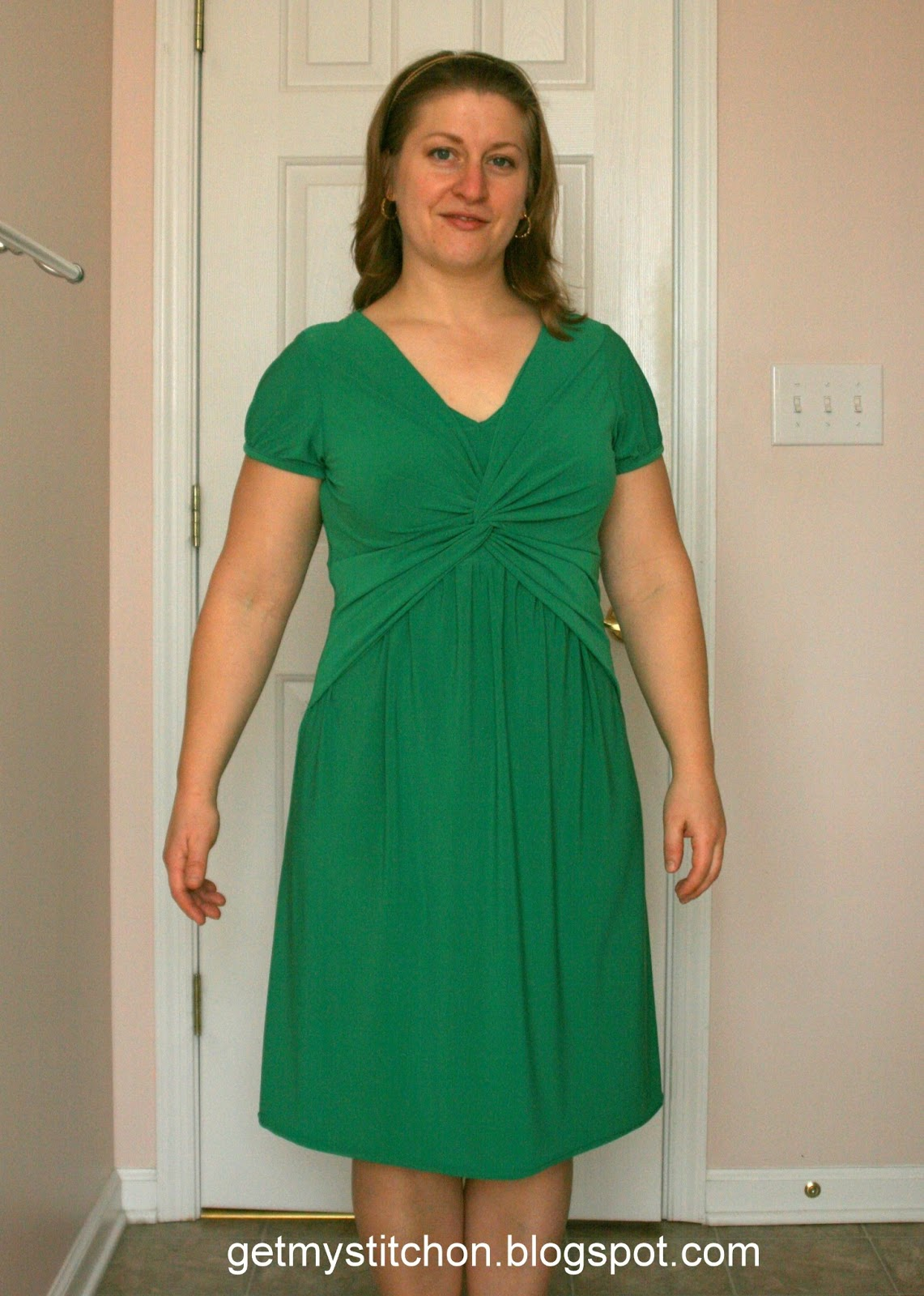 Get My Stitch On: But Not a Real Green Dress,