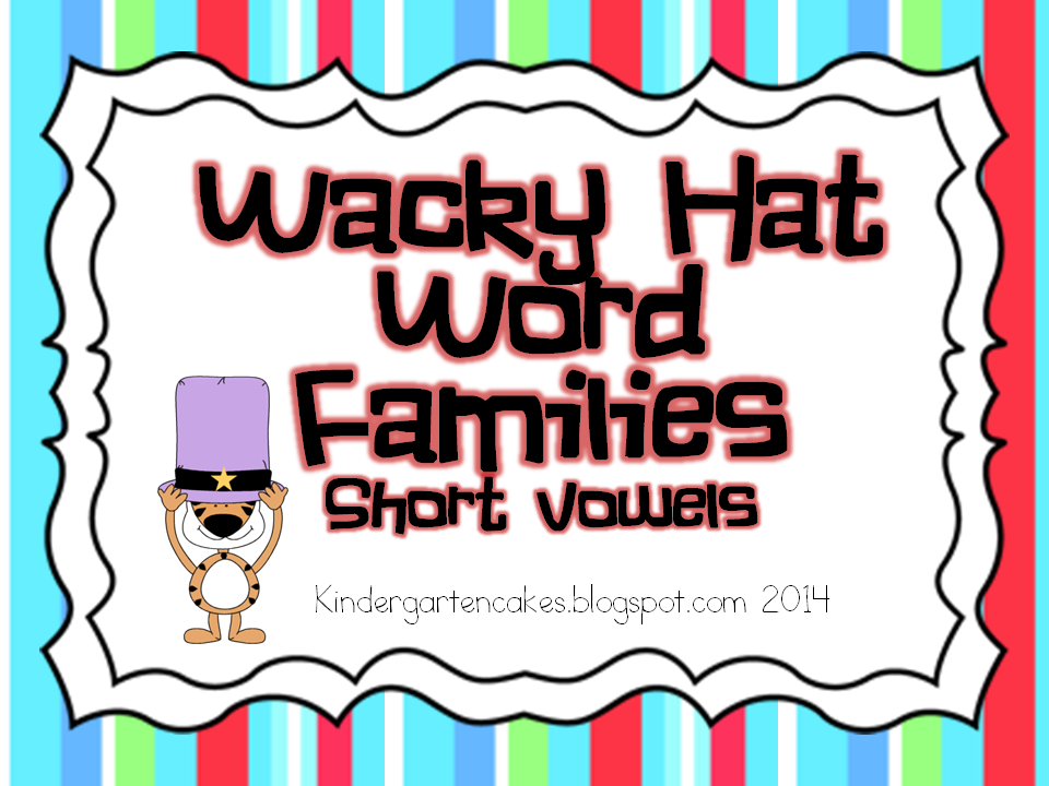 http://www.teacherspayteachers.com/Product/Wacky-Hat-Word-Families-Sort-Short-Vowels-1081068