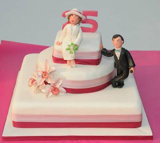 Torte Per I 25 Anni Di Matrimonio