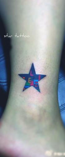 free tattoo designs mid size star tattoo designs. Black Bedroom Furniture Sets. Home Design Ideas