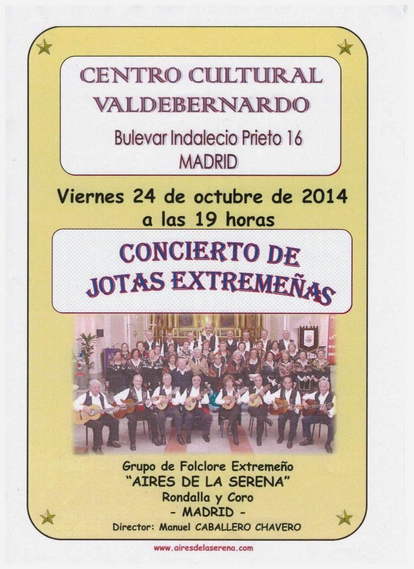 Aires de la Serena, Valdebernardo 24.10.14 19:00