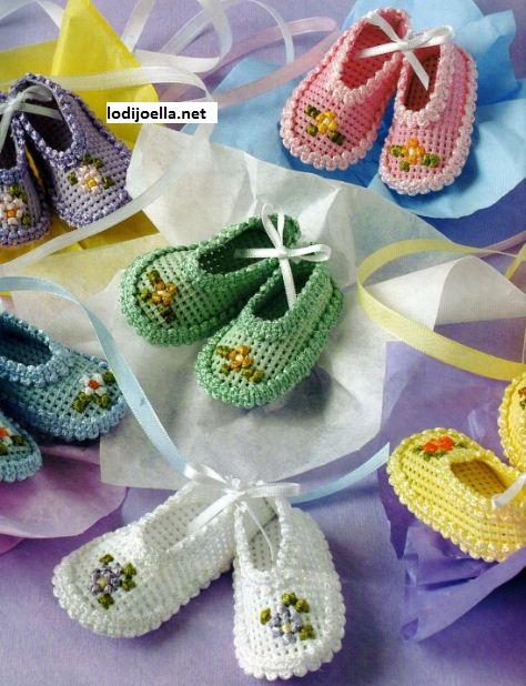 zapatitos para baby shower   facilisimo.com