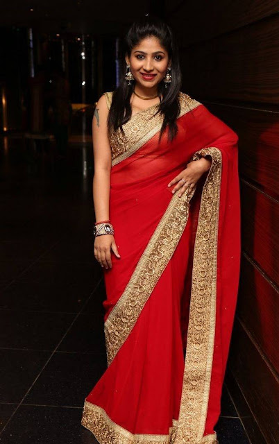 Madhulagna Das Stills At Rashmeet Kaur Wedding Reception