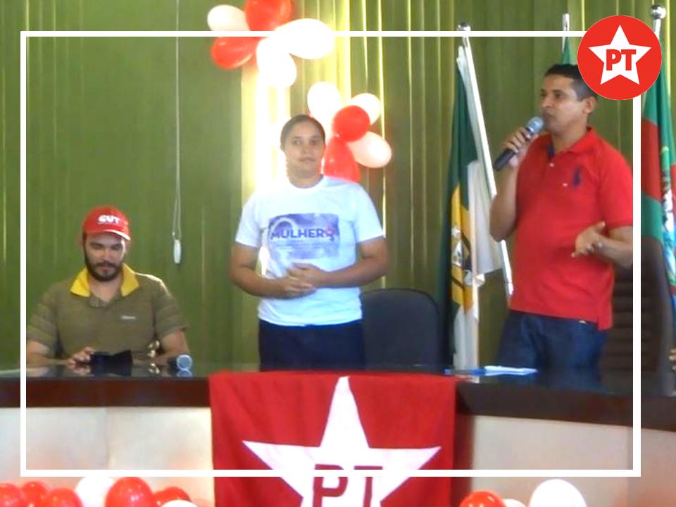 Diretório Municipal do PT de Arez/RN, realizou neste sábado a sua Convenção apresentando nomes para