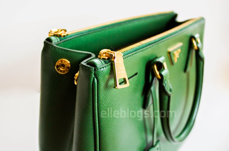 prada book bag - Review: Prada Saffiano Medium Double Zip Top-Handle Bag ( BN2274 ...