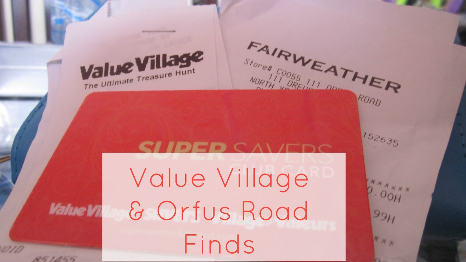 value village and orfus road