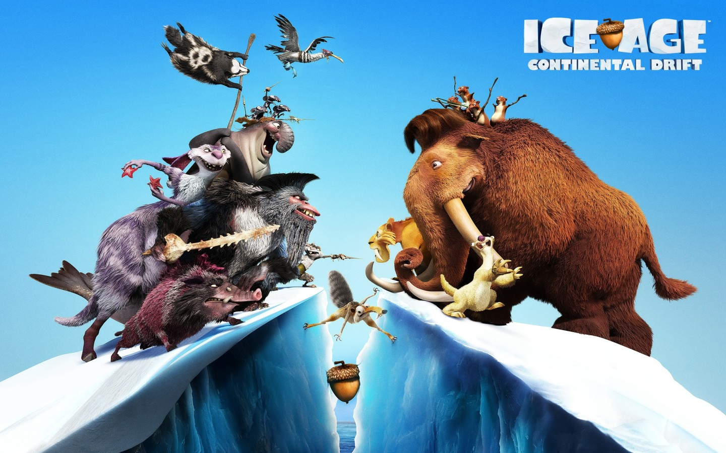 Review: Ice Age 4 Continental Drift (2012)   Awin Language
