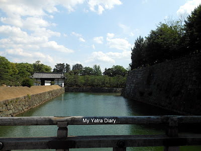 Inner moat,  Nijo Castle in Kyoto, Japan