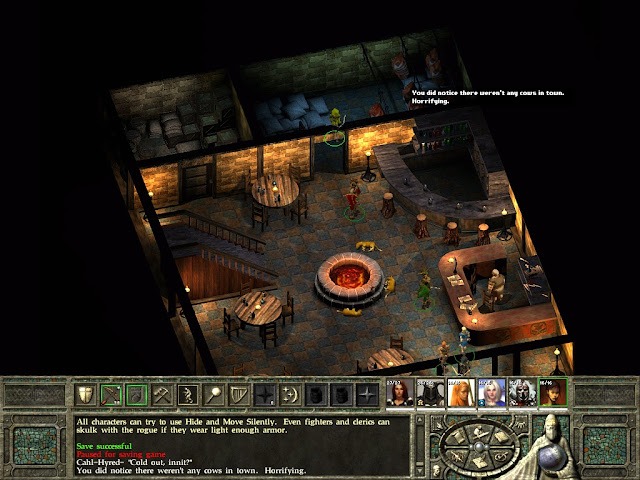 Icewind Dale 2 - Tavern Mystery Description