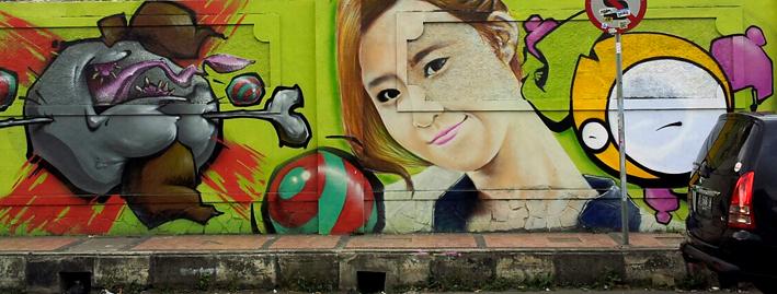 Yuri and Tiffany says HI from Bandung