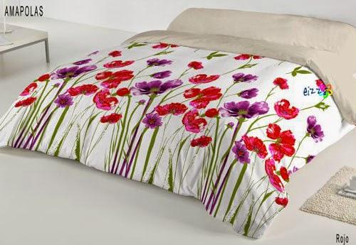 Funda nórdica floral