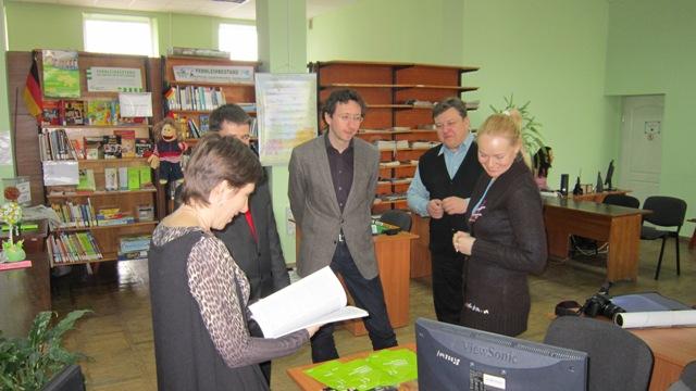 З 2009 року у нашій бібліотеці діє проект «Заочний абонемент (Україна)», започаткований культурним центром Ґете-Інститут в Україні.