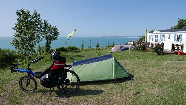 Randonnée à vélo : Camping à Trouville