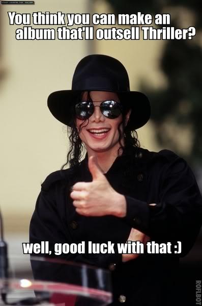 Michael Jackson Thriller Album Meme