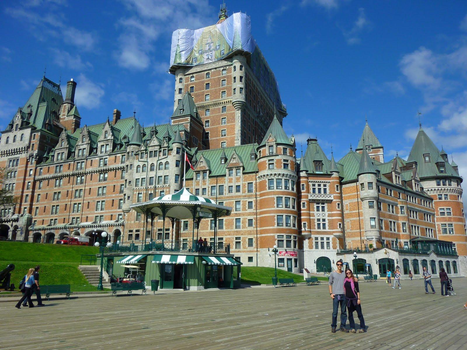 Quebec, Canada, vuelta al mundo, round the world, La Aventura de Pablo y Elena