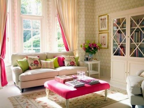 Sala feminina pink