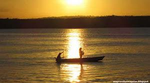 Pôr do sol no Paraíba