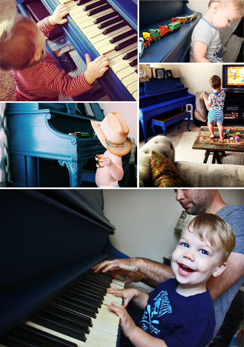 DIY Painted Piano Annie Sloan Chalk Paint