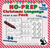 https://www.teacherspayteachers.com/Product/NO-PREP-Christmas-Language-Pack-Speech-Therapy-ELA-2229750