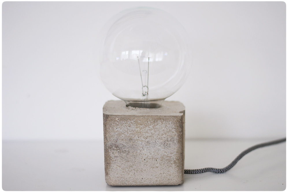 Nyf ddfotograf och barnfotograf stockholm for Diy concrete lamp