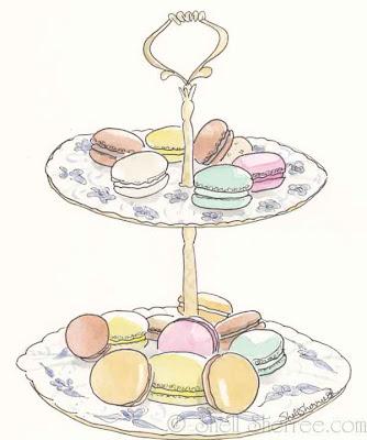 how to make a macaron stand