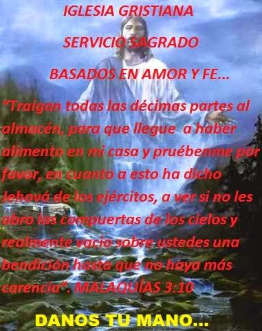 IGLESIA CRISTIANA SERVICIO SAGRADO...