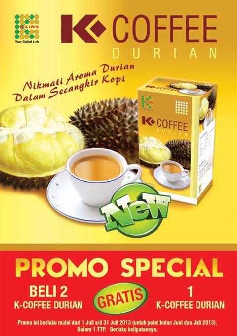 Jual K-Coffee Durian K-Link