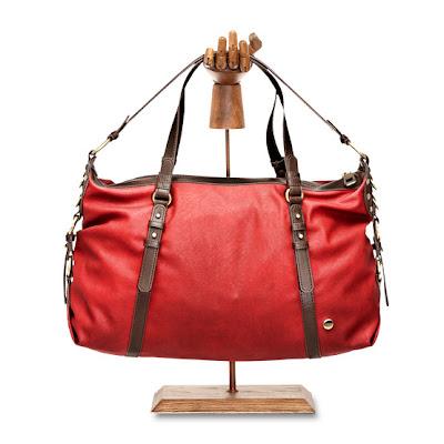 sac rouge e-shop mexx style cuir